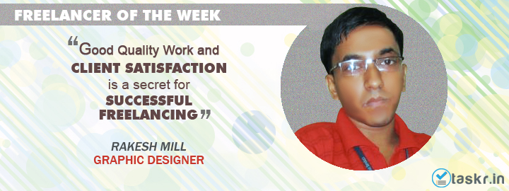 Featured Taskr of the Week: Rakesh Mill