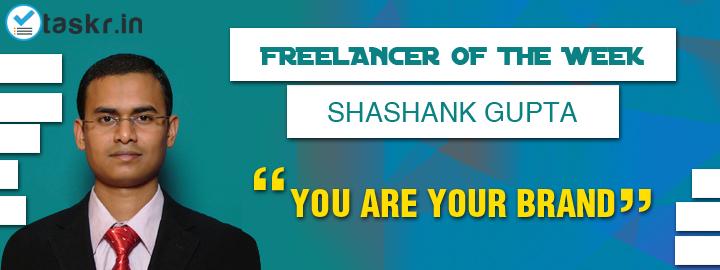 Featured Taskr of the Week: Shashank Gupta